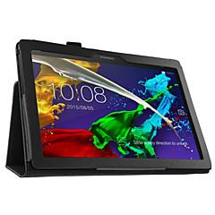 """pu cas de couverture pour onglet lenovo 2 a10-30 10.1 """"tablette avec protection d'écran"""