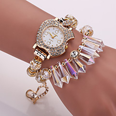 Women's Bracelet Watch Korean Crystal Apple Fashion Ornaments Crystal Bracelet Watch Women Watches (Assorted Colors) Cool Watches Unique Watches