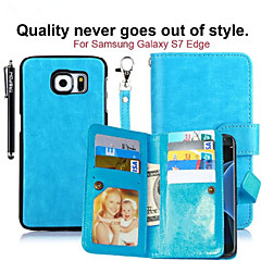 2 in 1 Removable Magnetic 9 Card Sot Leather PU Wallet Phone Cases S7/S7 Edge/S4/S5/S6/S6 Edge/S6 Edge +