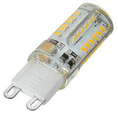 5W G9 Żarówki LED bi-pin Do zabudowy 58 SMD 3014 400-500 lm Ciepła biel / Zimna biel Ściemniana / Dekoracyjna AC 220-240 V 1 sztuka