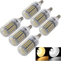 6W E14 / E26/E27 LED-kolbepærer T 96 SMD 5730 420 lm Varm hvid / Kold hvid Dekorativ AC 220-240 / AC 110-130 V 6 stk.