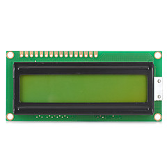 lcd1602 lcd monitor 1602 5v blå skjerm og hvit kode for Arduino