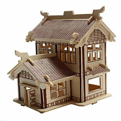 The Academy Pavilion Wood 3D Puzzles Diy Toys