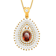 cyrkonu naszyjnik 18k pozłacane austrian crystal Biżuteria Akcesoria damskie marki prezent p30106
