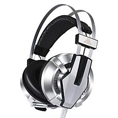 corlors skiftet usb stik kablede hovedtelefoner (pandebånd) for computer (ingen vibrationer)