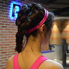 Women Men yoga hair bands Sports Headband Anti-slip Elastic Rubber Sweatband Football Yoga Running Biking