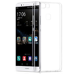 Fekete tok Ultra vékony Tömör szín TPU Mekano Tok Huawei Huawei P9 / Huawei P9 Lite / Huawei P8 / Huawei P8 Lite