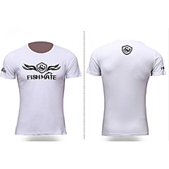 Outdoor Sports Casual Fishing Gear Short Sleeve Fishing Tshirt Summer Quick-Dry Shirt