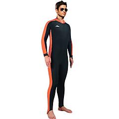 SBART® Férfi Dive Skins teljes Wetsuits Ultraibolya biztos Teljes védelem UPF50+ Elasztán Chinlon Búvárruha Vízhőbuvárruha Fürdőruha-