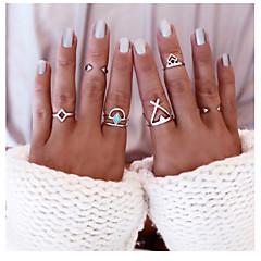 문자 반지,보석류 골든 일상 / 캐쥬얼 합금 1 세트,원 사이즈