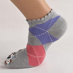 Rövid zoknik Női Légáteresztő Slabo zatezanje Upijanje znoja-5 pár mert
