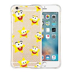 ster zachte transparante siliconen achterkant van de behuizing voor de iPhone 6 / 6s (diverse kleuren)