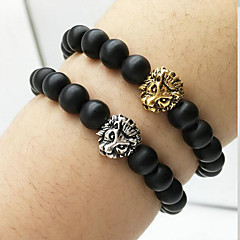 Lion Head Beads Agate Bracelet Charm Bracelets Daily / Casual 1pc