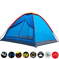 Tente- (Orange,3-4 personnes)Résistant à l'humidité / Etanche / Résistant aux ultraviolets / Séchage rapide / Résistant à la poussière /