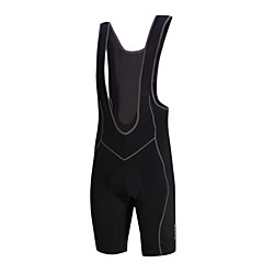 SANTIC® Cycling Bib Shorts Men's Bike Breathable / 3D Pad Bib Shorts / Padded Shorts/Chamois SBR / Coolmax SolidSpring / Summer /
