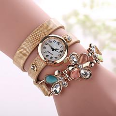 Xu™ Ladies' Fashion The Flower Diamonds Bracelet Quartz Watch Cool Watches Unique Watches