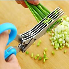 1 db Scissor For Növényi Rozsdamentes acél Jó minőség / Kreatív Konyha Gadget / Több funkciós