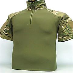 miesten paita metsästys vaatteet camping&vaellus / kalastus / / siirtävä / hengittävä / puettava