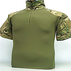 shirt κάμπινγκ κυνήγι ανδρικά ρούχα&πεζοπορία / Ψάρεμα / / ύγρανση / αναπνέει / wearable