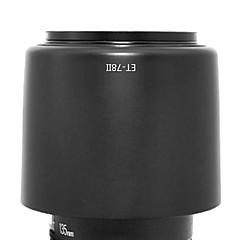 newyi® et-78II ombre parasoleil pour Canon EF 135mm f / 2l usm 180mm f / 3,5L macro usm (et-78 ii)
