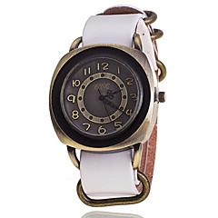 Men's Korean Fashion Retro Square Leather Watch Wrist Watch Cool Watch Unique Watch