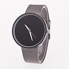 Men's Wrist watch Quartz Stainless Steel Band Grey