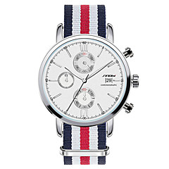 SINOBI® Men's High Quality Wrist Watch thin Dail Quartz Watch Best Clock Male Famous Steel Fashion Wrist Watch Cool Watch Unique Watch