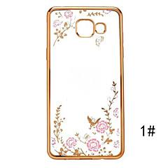 salainen puutarha sarja tpu puhelimen kuori pinnoitus Samsung Galaxy A5 / A7 / A8 / A9 / A310 / A510 / A710