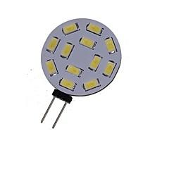 6W G4 LED-kohdevalaisimet MR11 12 SMD 5730 450-550 lm Lämmin valkoinen / Kylmä valkoinen Koristeltu DC 12 / AC 12 / AC 24 / DC 24 V 1 kpl
