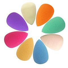 Kropelki wody Kształt Makeup Powder Puff (losowy kolor)