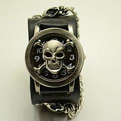 Unisex Fashion Watch The New Hip-Hop Personality Skull Antique Bronze Flip Hip Belt Quartz Watch(Assorted Colors) Cool Watches Unique Watches