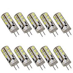 3W G4 LED Bi-pin Lights T 24 SMD 2835 280 lm Warm White / Cool White Decorative DC 12 10 pcs