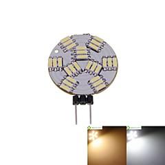 3W G4 Żarówki punktowe LED MR11 27 SMD 4014 300-360 lm Ciepła biel / Naturalna biel Ściemniana DC 12 V 5 sztuk