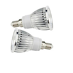 9W E14 Spot LED 1 COB 50-150 lm Blanc Chaud Blanc Froid AC 85-265 V 2 pièces