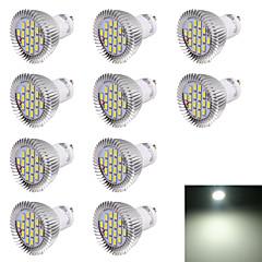 7W GU10 Żarówki punktowe LED R63 16 SMD 5630 560 lm Zimna biel Dekoracyjna AC 220-240 V 10 sztuk