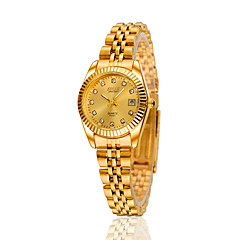 Women's Wrist watch Selling Models Inlaid Metal Belt Calendar Waterproof Automatic Mechanical Watches(Assorted Colors) Cool Watches Unique Watches