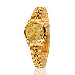 Damen Modeuhr Automatikaufzug Legierung Band Silber / Gold / Rotgold Marke-