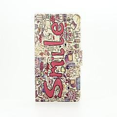 wzór uśmiechu pu skórzane etui full body z podstawą i gniazdo kart do Huawei P9 lite mini P8 P9 lite y625 g8 G7 Plus
