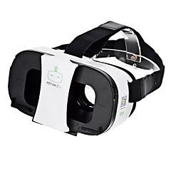 Fiit vr 2s virtual reality 3d video helm bril - wit + zwart