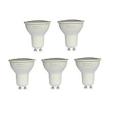 7W GU10 LED Σποτάκια MR16 21 SMD 2835 500 lm Θερμό Λευκό AC 100-240 V 5 τμχ