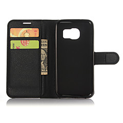 Genuine Leather Wallet Case for Samsung Galaxy S7 Plus S7 Edge/S7/S6 Edge +/S6 Edge/S6/S5/S4/S3