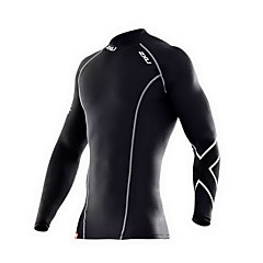 Running T-shirt / Compression Clothing / Tops Men's Long Sleeve Breathable / Compression / Sweat-wicking LYCRA® Fitness / Running Sports
