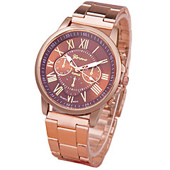 Women's Fashion Watch Casual Watch Quartz Alloy Band Rose Gold Strap Watch
