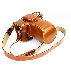 slr bag for olympus brun