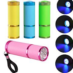 Mini LED uv lampe professionelle LED lampe gel polish negle tørretumbler LED lommelygte 10s hurtig kur mod negle gel