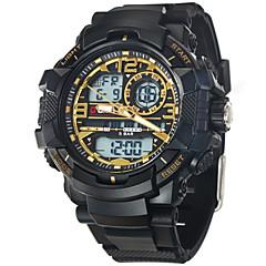 O.T.S Luxury Brand Men Military Sports Black Gold Shock Fashion Digital LED Quartz Stylish Wrist Watches
