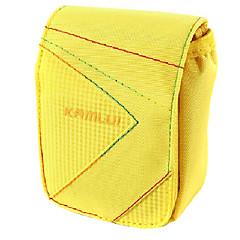 L Size Camera Case for Casio zr1000/zr1200/rx100  8.5*5*10.5 Yellow
