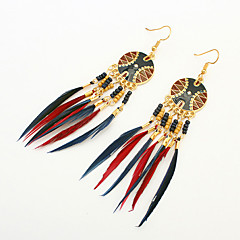 Earring Drop Earrings Jewelry Women Tassels / Fashion Party / Daily / Casual 1 pair Gold
