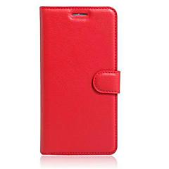Mert Motorola tok Pénztárca Kártyatartó Állvánnyal Flip Case Teljes védelem Case Egyszínű Kemény Műbőr mert MotorolaMoto X Play Moto G