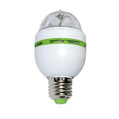 3W LED-lavavalaistus 100 lm RGB SMD Ääniaktivoitu AC 85-265 V 1 kpl